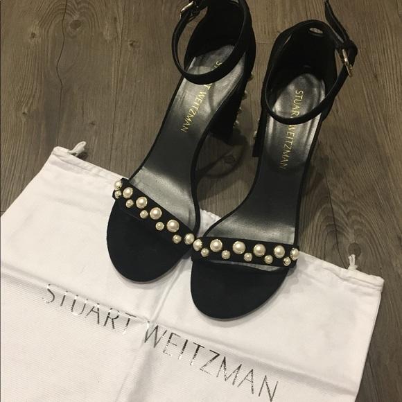 1c0cab8e1574 Stuart Weitzman More Pearls Sandals. M 5c49ff4ec617773d6a18d7f6